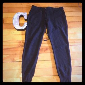 Black joggers size medium